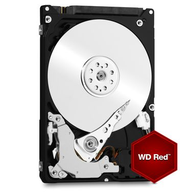"WD Red 1TB / HDD / 2.5"" SATA III / IntelliPower / 16MB cache / 9.5mm / 3y"