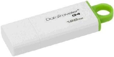 Kingston DataTraveler I G4 128GB / Flash Disk / USB 3.0 / zelený / výprodej