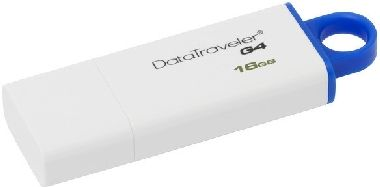 Kingston DataTraveler I G4 16GB / Flash Disk / USB 3.0 / modrá