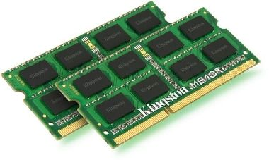 Kingston 8GB SO-DIMM DDR3 1333MHz / 2x4GB / CL9 / SR X8 / 1.5V