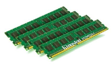 Kingston 32GB DDR3 1333MHz / 4x 8GB KIT / CL9 / Height 30mm