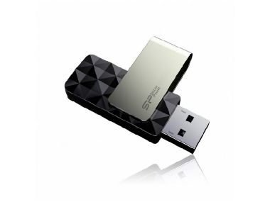 Silicon Power Blaze B30 / 16GB / Flash Disk / USB 3.0 / Černý