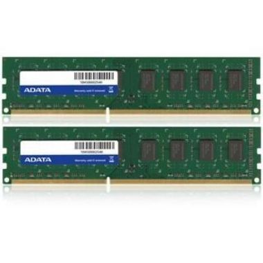 ADATA 4GB DDR3 1333MHz / KIT 2x 2GB / CL9 / DIMM / RETAIL
