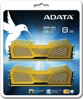 ADATA XPG V2 Gold 16GB DDR3 1600MHz / KIT 2x 8GB / CL9 / DIMM