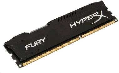 HyperX Fury Black 4GB (1x 4GB) DDR3 1866MHz / CL10 / DIMM / 1.5V / Non-ECC / Un-Registered