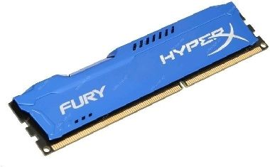 HyperX Fury Blue 8GB DDR3 1600MHz / 1x8GB /  CL10