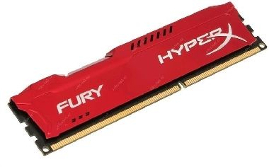 HyperX Fury Red 8GB DDR3 1866MHz / 1x8GB /  CL10 / výprodej