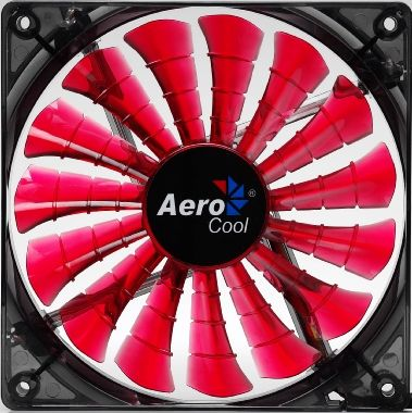 AEROCOOL Shark Fan / 120 mm / ventilátor / Devil Red Edition