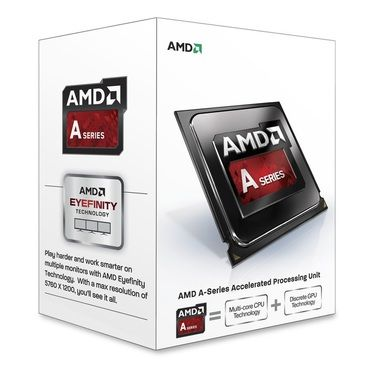 AMD A4-6320 @ 3.8GHz / Turbo 4.0GHz / 2C2T / 96kB L1, 1MB L2 / Radeon HD 8370D / FM2 / Piledriver-Richland / 65W