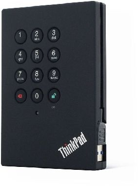 "Lenovo ThinkPad USB 3.0 Portable Secure / 2.5"" / 500GB / 5400 ot/min / USB 3.0 / Černý"