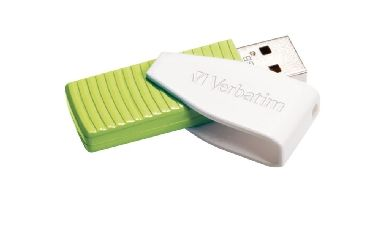 Verbatim Store'n'Go Swivel flash / 32 GB / USB 2.0 / zelená