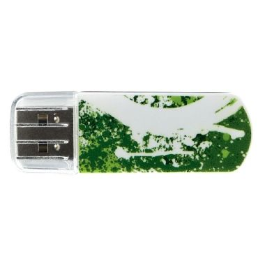 Verbatim Store'n'Go Mini USB Flash / Graffiti edice / 8 GB / USB 2.0 / zelená