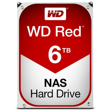 "WD Red 6TB / HDD / 3.5"" SATA III / 5 400 rpm / 64MB cache / 3y"