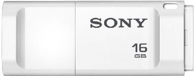 SONY USB Flash disk Micro Vault X 16 GB / USB 3.0 / bílá