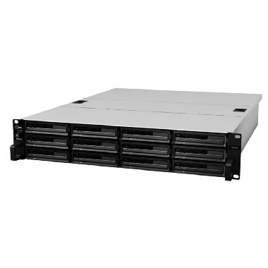 Synology RackStation RS3614RPxs / 12x HDD / Intel DC @3.4GHz / 4GB RAM / 2x USB 2.0 / 2x USB 3.0 / 4x GLAN