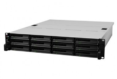 Synology RackStation RS3614xs+ / 12x HDD / Intel QC @3.3GHz / 4GB RAM / 2x USB 2.0 / 2x USB 3.0 / 4x GLAN