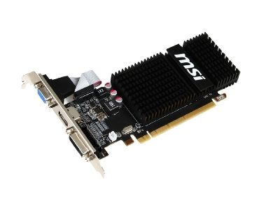MSI R5 230 2GD3H LP / 64bit / low profile / 625MHz / 2048 GDDR3 1066MHz / DVI / HDMI