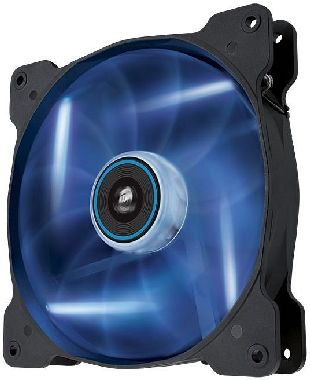 Corsair SP140 LED Blue / 140 mm / Hydraulic Bearing / 29.3 dB @ 1440 RPM / 84.1 m3h / 3-pin