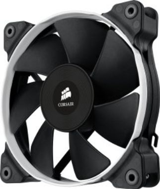 Corsair SP120 Performance Edition PWM / 120 mm / Hydraulic Bearing / 35 dB @ 2350 RPM / 106.6 m3h / 4-pin