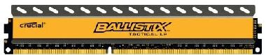 CRUCIAL Ballistix Tactical LP 4GB / DDR3 / 1600MHz / PC3-12800 / CL8 / 1.35V