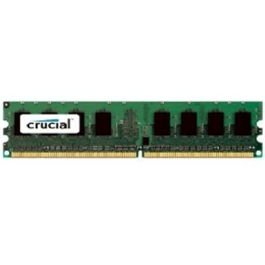 Crucial 2GB DDR2 / 800MHz / PC2-6400 / CL6 / 1.80V