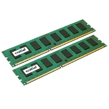 Crucial 4GB / 2x2GB / DDR2 / 800MHz / PC2-6400 / CL6 / 1.80V