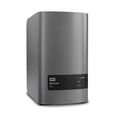 "WD My Book Duo 8TB / HDD / 3.5"" / NTFS / USB 3.0 / Šedá / 2y"