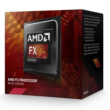 AMD FX-9370 @ 4.4GHz / Turbo 4.7GHz / 8C8T / 384kB L1, 8MB L2, 8MB L3 / AM3+ / Piledriver-Vishera / 220W