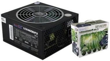 LC POWER LC6460GP3-v2.3 460W / 140mm ventilátor / Black Giant Silent / 80 PLUS Bronze