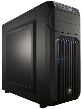Corsair Carbide SPEC-01 Blue LED / ATX / 2x USB 3.0 / 3x 120 mm + 2x 140 mm / Průhledná bočnice