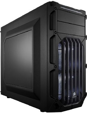 Corsair Carbide SPEC-03 Blue LED / ATX / 2x USB 3.0 / 4x 120 mm + 2x 140 mm / Průhledná bočnice