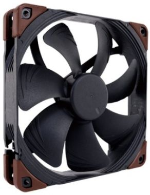 Noctua NF-A14 industrialPPC-2000 / 140 mm / SSO2 Bearing / 31.5 dB @ 2000 RPM / 182.5 m3h / 3-pin