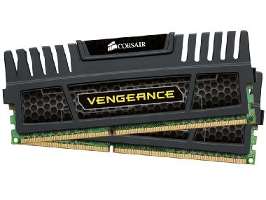 Corsair Vengeance Black 16GB DDR3 1600MHz / 2x 8GB KIT / CL9 / 1.5V / XMP