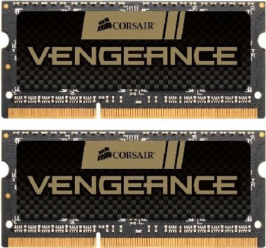 Corsair Vengeance 16GB SO-DIMM DDR3 1600MHz / 2x 8GB KIT / CL9 / 1.5V