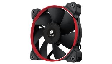 Corsair SP120 Performance Edition / 120 mm / Hydraulic Bearing / 35 dB @ 2350 RPM / 106.6 m3h / 3-pin