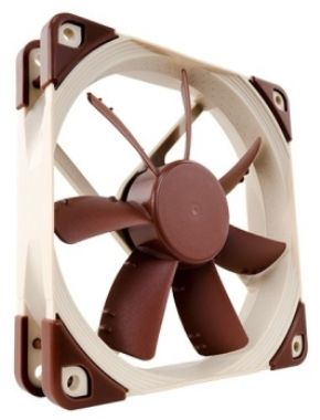 Noctua NF-S12A PWM / 120 mm / SSO2 Bearing / 17.8 dB @ 1200 RPM / 107.5 m3h / 4-pin