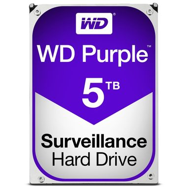 "WD Purple 5TB / HDD / 3.5"" SATA III / 5 400 rpm / 64MB cache / 3y"