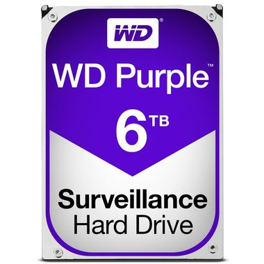 "WD Purple 6TB / HDD / 3.5"" SATA III / 5 400 rpm / 64MB cache / 3y"
