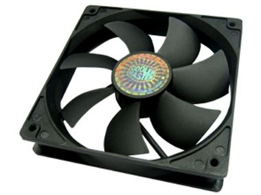 Cooler Master Silent Fan 120 SI1 / 120 mm / Sleeve Bearing / 19.8 dB @ 1200 RPM / 44.03 CFM / 3-pin