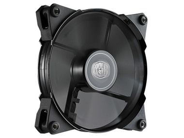 Cooler Master JetFlo 120 / 120 mm / POM Bearing / 36 dB @ 2000 RPM / 95 CFM / 4-pin