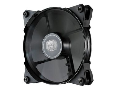 Cooler Master JetFlo 120 LED Blue / 120 mm / POM Bearing / 36 dB @ 2000 RPM / 95 CFM / 4-pin