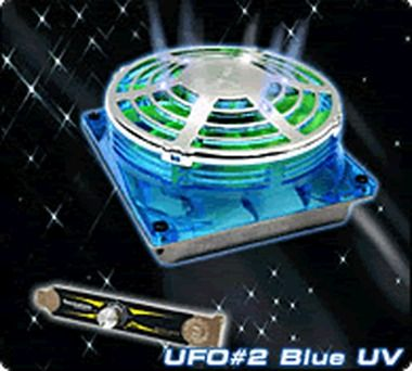 THERMALTAKE A2218 UFO FAN Blue UV / Větráček 90x90x38mm / 1300-3600RPM