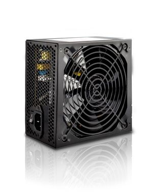 CRONO zdroj PS500Plus / 500W / 12cm fan / Active PFC / Erp < 0.5W/ 4x SATA / 80+ / černý