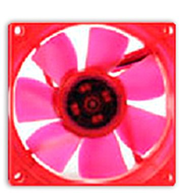 THERMALTAKE A2271 Ultra UV Fan - RED Series / Větráček 80x80x25mm / 21dB