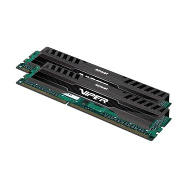 Patriot DDR3 16GB KIT / 1600Mhz / Viper3  / CL10 / Black mamba