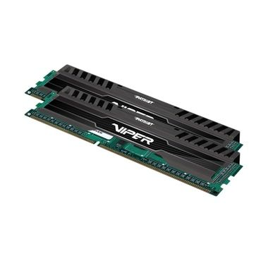 Patriot DDR3 16GB KIT / 1600Mhz / Viper3  / CL9 / Black mamba