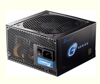 Seasonic 550W G-550 / 80PLUS GOLD / cable management