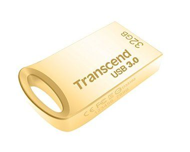 Transcend USB Flash Disk JetFlash®710G / 32GB / USB 3.0 / Gold / R/W 90/20 MB/s