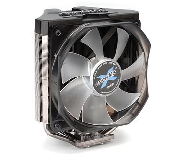ZALMAN chladič CPU CNPS11X EXTREME / ultratichý / 120mm LED fan / pro s. 2011/1155/1156/1366/775/FM1/AM3+/AM3/AM2+/AM2