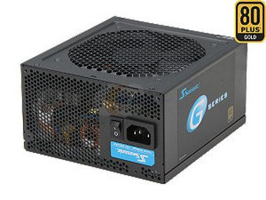 Seasonic G-450 (SSR-450RM) / 450W / 80PLUS GOLD / kabelový management